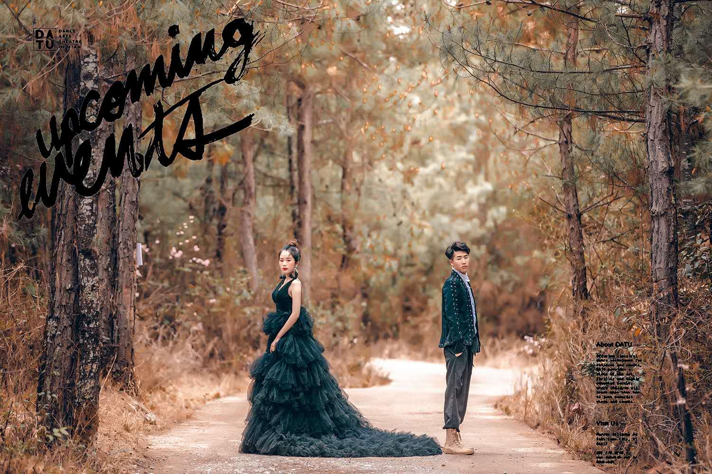 凱蒂卡羅蘭婚紗攝影旅拍記錄