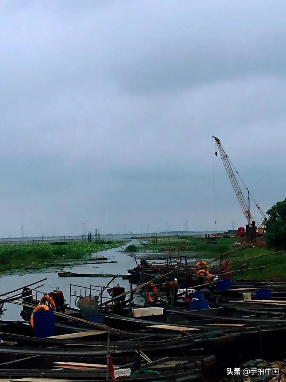 手拍中國-美麗的家鄉:黃湖大橋,安徽省最長的跨湖大