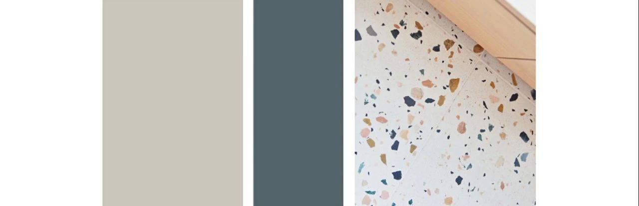 莫蘭迪色調+水磨石,這個90㎡的家顏值逆天,儲物翻倍,你心動了嗎?